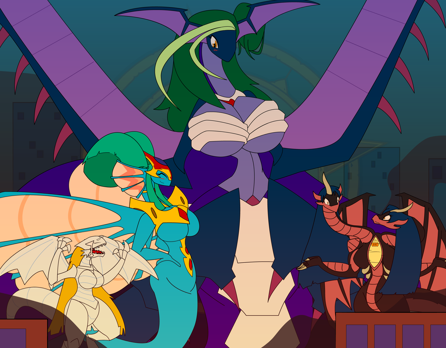 Yugioh Gals Dragoness Bonanza! by Dragon-FangX on DeviantArt
