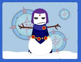 Snowpeople - Raven by Dragon-FangX