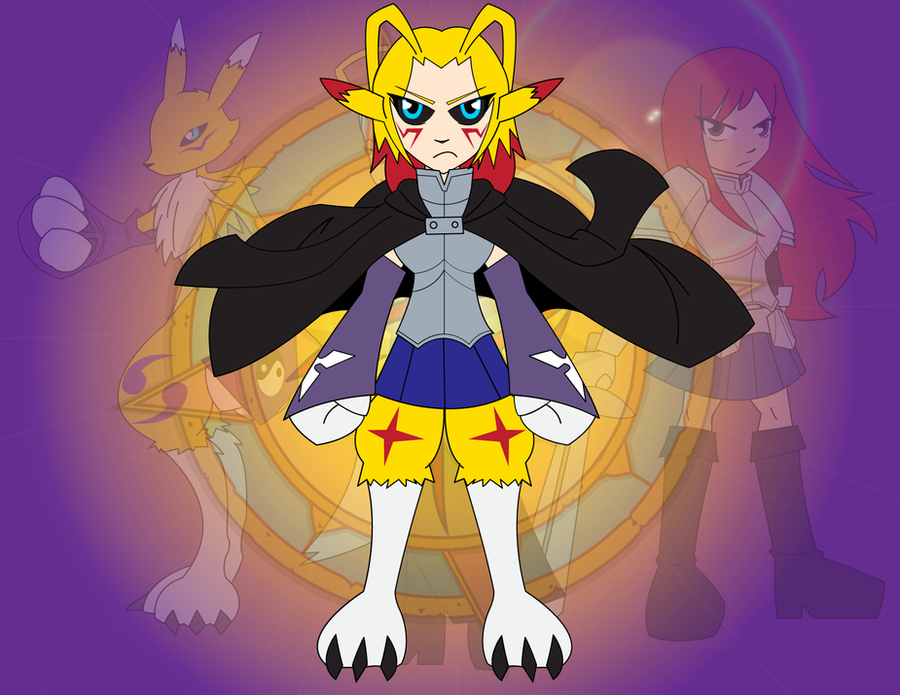 Fusion - Lightning Kitsune by Dragon-FangX