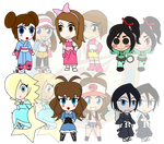 Assorted Chibis - Dolled Up