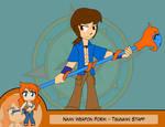 Heroes as Arms - Tsunami Staff