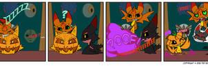 Trader Lydia - Jack-o-lantern Morphing by Dragon-FangX