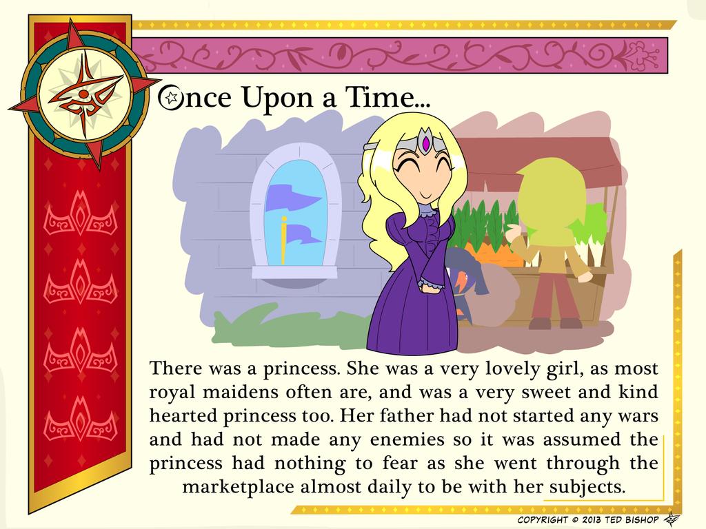 how to write a princess story