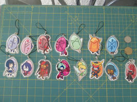 Printed Charms 1 and 2