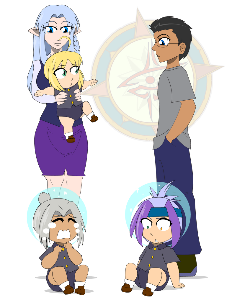 Teachers New Daycare Students by Dragon-FangX