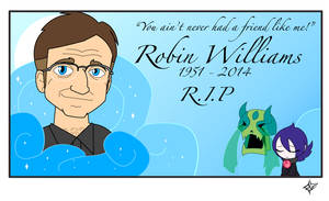 Robin Williams - R.I.P. by Dragon-FangX
