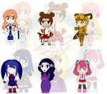 Assorted Chibis - Dolls and Toys