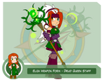Heroes as Arms - Druid Queen Staff