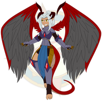 Design - Chaos Angel Sera by Dragon-FangX