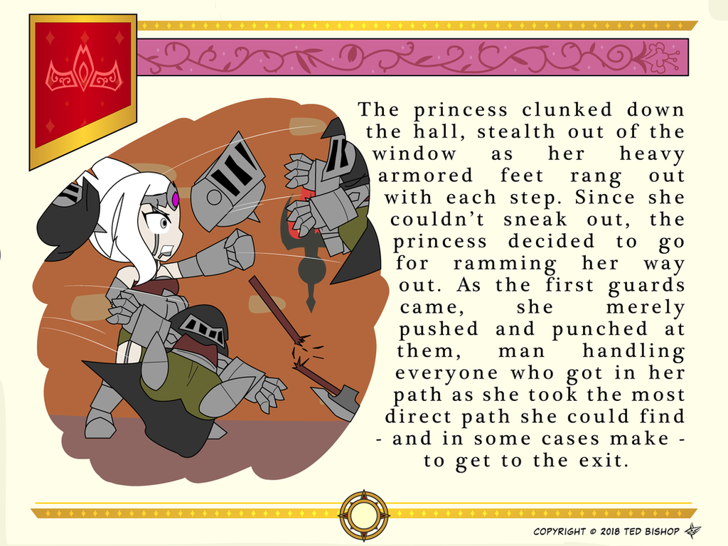 Another Princess Story - Guard Handled by Dragon-FangX