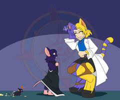 Ritsuko's Rodent Report - Mouse-sato 4 by Dragon-FangX