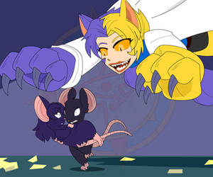 Ritsuko's Rodent Report - Mouse-sato 5 by Dragon-FangX