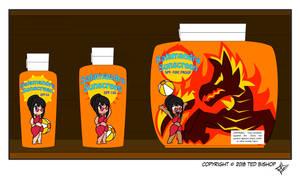 Trader Lydia - Salamandra Sunscreen by Dragon-FangX