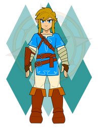 Link (Breath of the Wild) Base by Dragon-FangX