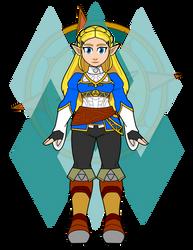 Zelda Base by Dragon-FangX