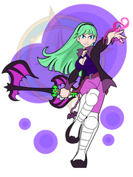 Morrigan the Keyblade Wielder by Dragon-FangX