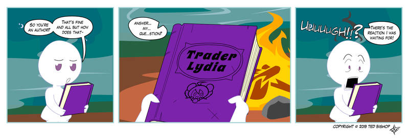 Trader Lydia - Holding Your Life in Your Hands