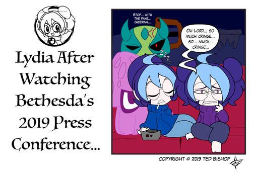 Gamer Lydia - Bethesda 2019 Reaction