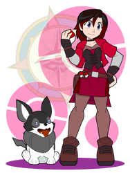 Trainer Ruby Would Like to Battle