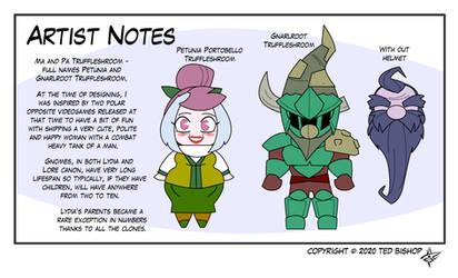 Trader Lydia - Artist Notes 6