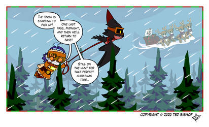 Trader Lydia - Christmas Tree Hunt