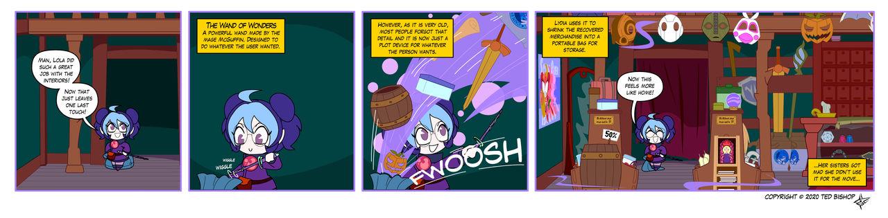 Trader Lydia - Wand of Wonders