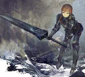 iron sword by uturo128