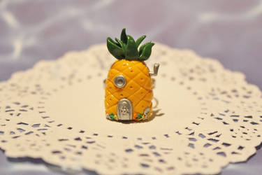 SpongeBob SquarePants Pineapple House Ring by CharmStop
