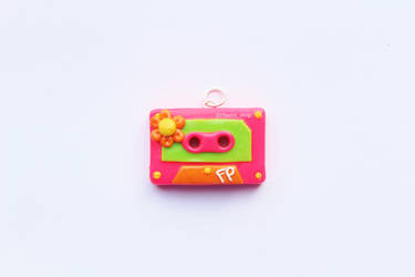 Vintage 'Flower Power' Cassette Tape by CharmStop