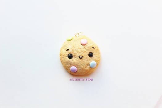 Kawaii Pastel Cookie Pendant