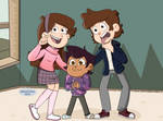 Dipper Mabel and Luz