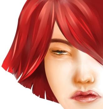red hair by MiNsEi