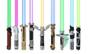 Lightsaber Designs lit