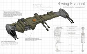 B-wing Redesign 2 by Stephen-Daymond
