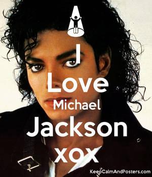 5553832 I Love Michael Jackson Xox