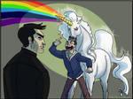 TW, Sterek Commission: Unicorn
