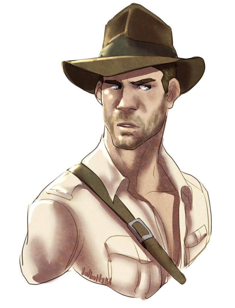 Indiana Jones by Gone-Batty