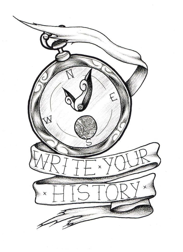 Clock Compass Coloring Pages Mewarnai Clipartsco Sketch ...