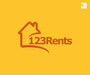 Logo Design for 123 Rents by JohneryArtCreatives