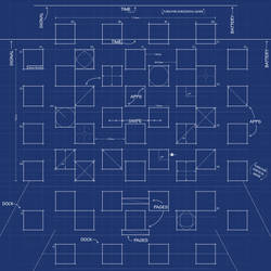 iPad 3 Blueprint Wallpaper