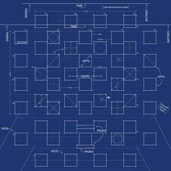 iPad 3 Blueprint Wallpaper by MrDUDE42