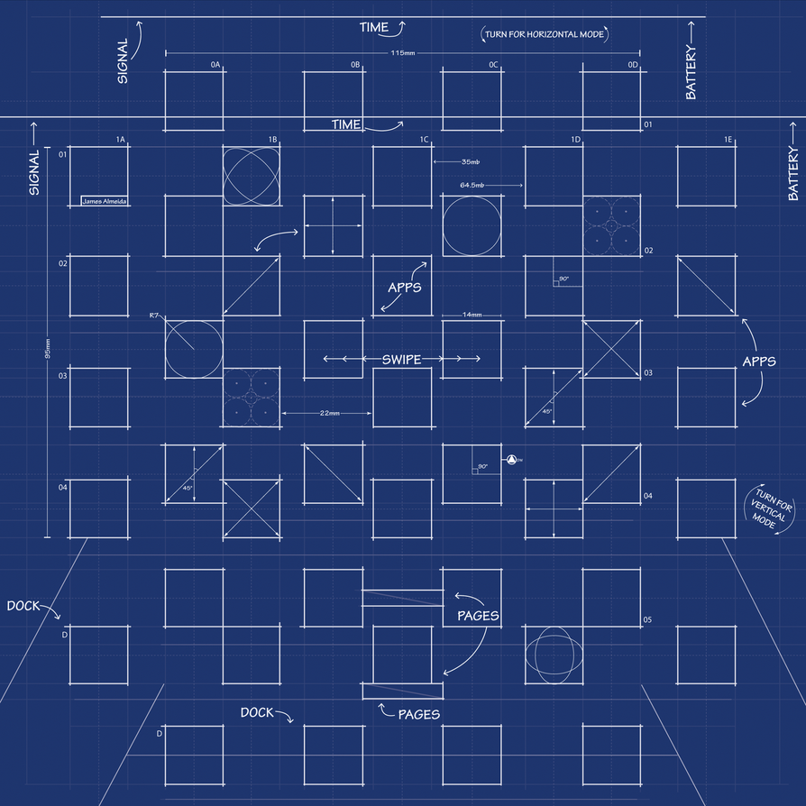 Ipad 3 blueprint wallpaper by mrdude42 on deviantart ipad 3 blueprint wallpaper by mrdude42 malvernweather Choice Image