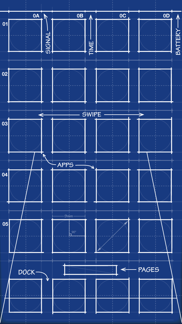 Iphone 5 blueprint wallpaper 640x1136 by mrdude42 on for Wallpaper for iphone 3gs home screen
