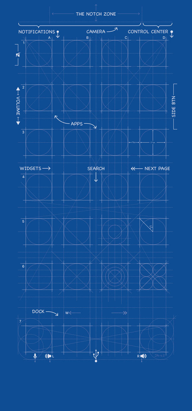 Iphone x blueprint wallpaper by mrdude42 on deviantart iphone x blueprint wallpaper by mrdude42 malvernweather Gallery