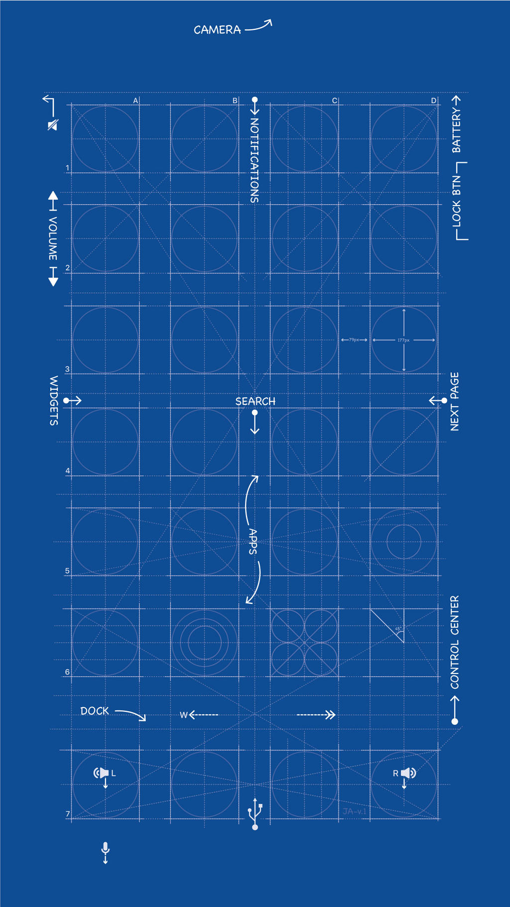 Iphone 6 8 Blueprint Wallpaper By Mrdude42 On Deviantart
