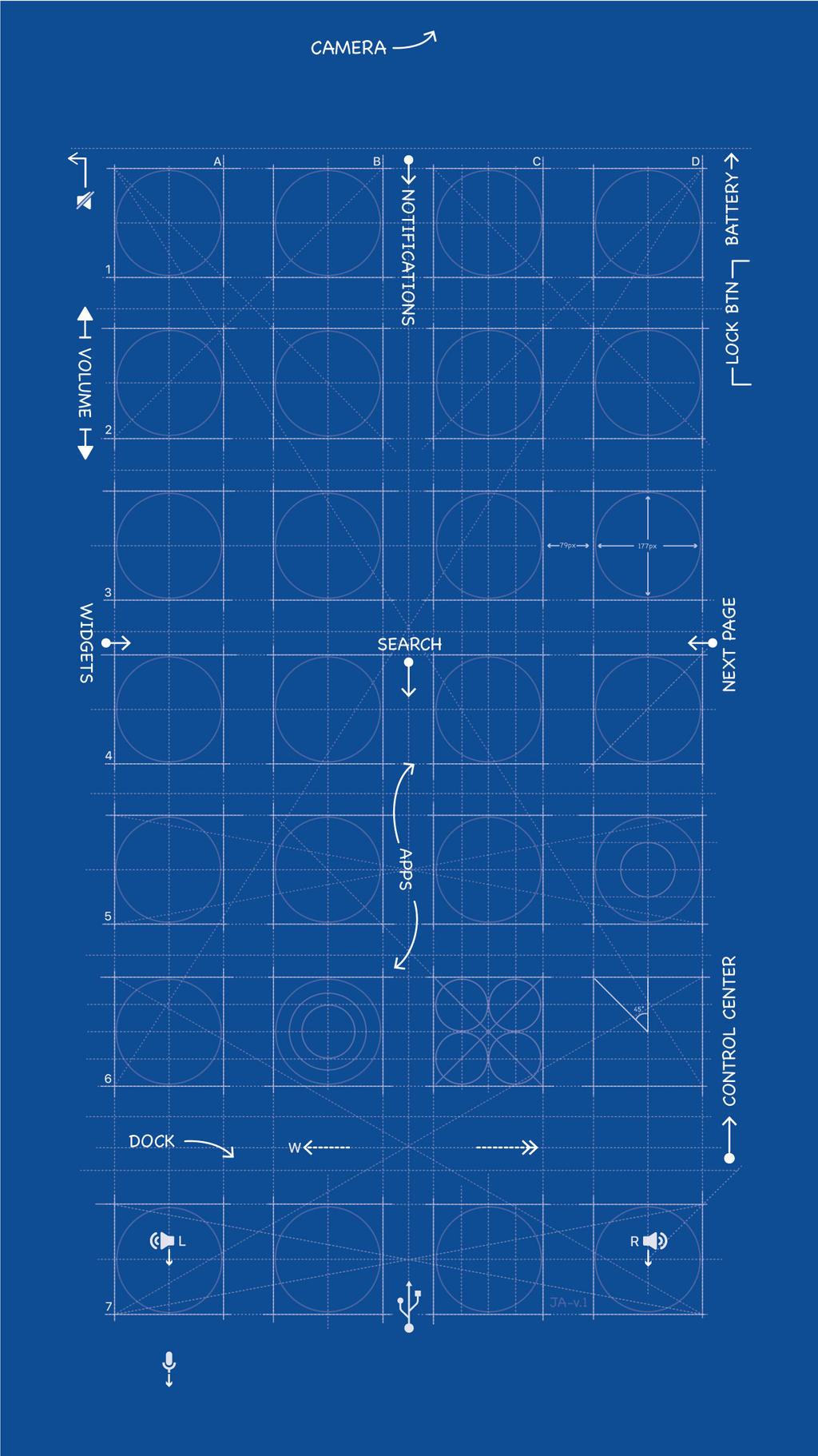 Blueprint Wallpaper Iphone 7 Plus