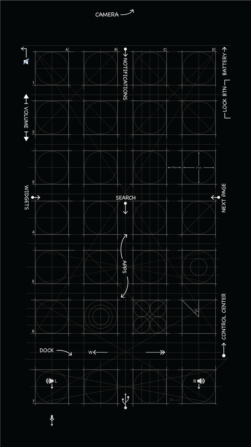 Iphone x blueprint wallpaper by mrdude42 on deviantart blueprint iphone6 8 wallpaper by mrdude42 malvernweather Choice Image