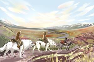 Trekking Trio by Tauriiga