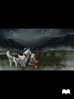 Caribou Hunt by Tauriiga