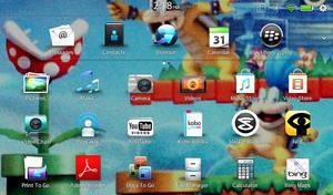 My screenshot wallpaper